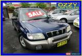 Classic 2001 Subaru Forester MY01 Limited Blue Manual 5sp M Wagon for Sale