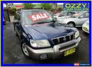 2001 Subaru Forester MY01 Limited Blue Manual 5sp M Wagon for Sale