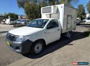 2012 Toyota Hilux Freezer Refrigerated Automatic 4sp A Cab Chassis for Sale
