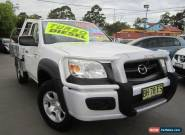 2010 Mazda BT-50 09 Upgrade Boss B3000 DX (4x4) White Manual 5sp M Cab Chassis for Sale