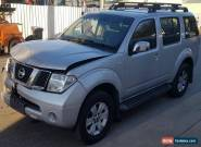 2005 Nissan Pathfinder ST-L R51 Wagon AUTO Turbo Diesel 4X4 DAMAGED 7 SEAT for Sale
