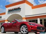 2012 Maserati Other Base Convertible 2-Door for Sale