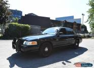 2011 Ford Crown Victoria Police Interceptor for Sale