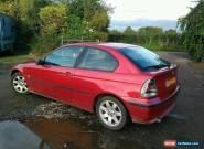 bmw e46 316i lpg dual fuel spares repair no mot  for Sale