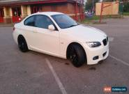 2009 BMW 320D M SPORT HIGHLINE WHITE FULL LEATHER IMMACULATE for Sale