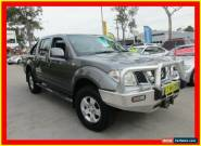 2011 Nissan Navara D40 ST Grey Automatic 5sp A 4D UTILITY for Sale