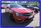 Classic 2015 Mercedes-Benz C63 W204 MY14 AMG Edition 507 Red Automatic 7sp A Coupe for Sale