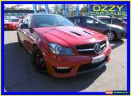 2015 Mercedes-Benz C63 W204 MY14 AMG Edition 507 Red Automatic 7sp A Coupe for Sale