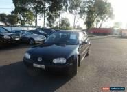 2002 Volkswagen Golf 2.0 SE Blue Manual 5sp M Hatchback for Sale