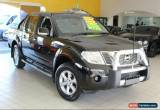 Classic 2014 Nissan Navara D40 S7 ST Black Manual M Utility for Sale