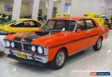 Classic 1971 Ford Fairmont XY Vermillion Red Manual 4sp M Sedan for Sale