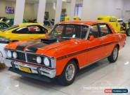 1971 Ford Fairmont XY Vermillion Red Manual 4sp M Sedan for Sale