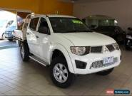 2012 Mitsubishi Triton MN MY12 GL-R White Manual M Dual Cab for Sale