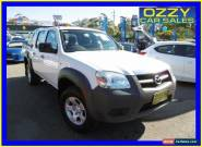 2011 Mazda BT-50 09 Upgrade Boss B3000 DX (4x4) White Manual 5sp M for Sale
