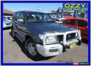 2001 Toyota Landcruiser HDJ100R GXL (4x4) Grey Manual 5sp M Wagon for Sale