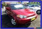 Classic 1999 Honda HR-V (4x4) Sport Red Automatic A Wagon for Sale