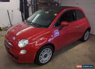 2011 Fiat 500 500C for Sale
