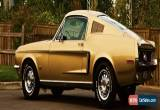 Classic 1968 Ford Mustang 2+2 for Sale