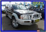 Classic 2004 Nissan Navara D22 ST-R (4x4) Black Manual 5sp M Dual Cab Pick-up for Sale