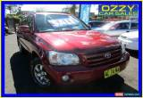 Classic 2004 Toyota Kluger MCU28R CVX (4x4) Burgundy Automatic 5sp A Wagon for Sale