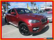 2008 BMW X6 E71 xDrive35i Red Automatic A Wagon for Sale