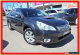 Classic 2010 Subaru Outback B5A MY10 2.0D Grey Manual 6sp M Wagon for Sale