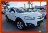 Classic 2011 Holden Captiva CG Series II 7 CX White Automatic A Wagon for Sale