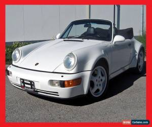Classic Porsche: 911 America Roadster for Sale