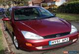Classic FORD FOCUS 1.6 GHIA - SPARES OR REPAIR! FAB RUNNER 1 OWNER FROM NEW  for Sale