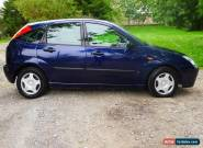 FORD FOCUS 1.4 LX BLUE 2004 54 REG LPG GAS CONVERTED CAT D 3 DAY AUCTION N/R for Sale