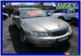 Classic 2002 Holden Caprice Whii Olive Automatic 4sp A Sedan for Sale