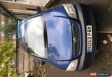 Classic 2002 VAUXHALL ZAFIRA COMFORT 16V BLUE for Sale