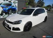 2011 Volkswagen Golf 1K MY11 R White Automatic 6sp A Hatchback for Sale