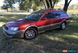 Classic 1999 Subaru Outback MY00 Limited Regency & Gold Manual 5sp M Wagon for Sale