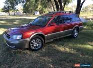 1999 Subaru Outback MY00 Limited Regency & Gold Manual 5sp M Wagon for Sale