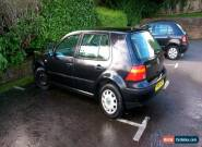 2001 VW Golf 1.6 Auto Mk4 - Black - Spares or Repair for Sale