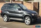Classic 2002 BMW X5 4.4 SPORT V8 AUTO BLACK for Sale