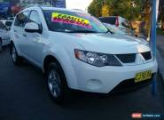 2008 Mitsubishi Outlander ZG MY08 LS White Automatic 6sp A Wagon for Sale