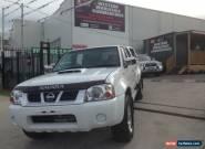 2010 Nissan Navara D22 MY08 ST-R (4x4) White Manual 5sp M Dual Cab Pick-up for Sale