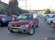 2005 Ford Territory SY TX (RWD) Burgundy Automatic 4sp A Wagon for Sale