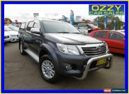2012 Toyota Hilux GGN25R MY12 SR5 (4x4) Graphite Automatic 5sp A for Sale