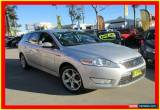 Classic 2009 Ford Mondeo MB Zetec Silver Automatic A Wagon for Sale