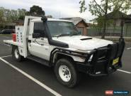 TOYOTA LANDCRUISER 2008 VDJ79R WORKMATE (4x4) WHITE MANUAL 5 SPEED 199,400 KMS for Sale