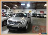 2008 Nissan Dualis J10 ST (4x4) Silver Manual 6sp M Wagon for Sale