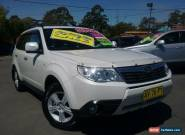 2008 Subaru Forester MY08 XS Luxury White Automatic 4sp A Wagon for Sale