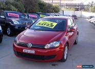 2009 Volkswagen Golf 1K MY10 118 TSI Comfortline Red Automatic 7sp A Hatchback for Sale