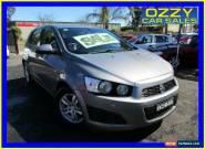 2012 Holden Barina TM MY13 CD Grey Manual 5sp M Hatchback for Sale