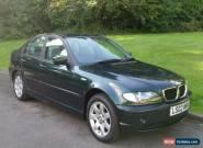 2002 BMW 316i SE.. for Sale