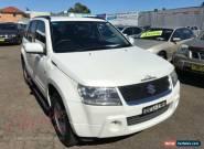 2008 Suzuki Grand Vitara JT Trekker Pearl White Automatic 4sp A Wagon for Sale