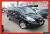 Classic 2011 Fiat Scudo Comfort Black Manual 6sp M Van for Sale